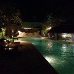 pool evening
