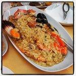 Ριζοτο με θαλασσινα - Ippokampos