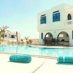 La piscine et sa suite