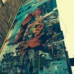 Wall, East London