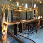 The beautiful tasting room at Vina Garces Silva