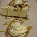 Frangelico - almond cheesecake