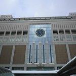 JR札幌駅南口から南下し朝日新聞社を目当てに東へ左折