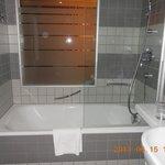 浴槽もゆったり!