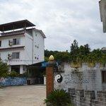 Entrance of school