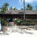 résto sur la plage proche de l'hotel