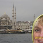 On a boat trip up the Bosphorus