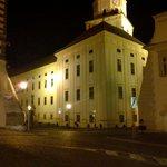 Kromeriz Castle, corner of main square