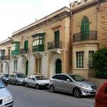Tipici prospetti e balconi Maltesi
