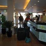 lobby del hotel brisasol