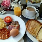 Full-on english breakfast