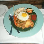 Nasi Goreng from the Restuarant, delicious