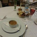 Zuppa di ceci e zucca gialla