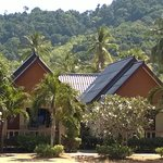 Beach-front bungalows