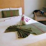 Room on main floor Binniguenda Hotel.