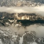 View from Vogel to Lake Bohinj