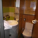 Dusch-Toilettenbereich