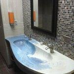 Nice Clean Restroom (cool sink)