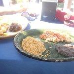 Petits déjeuners excellents à 35 pesos - 5 mars 2014.