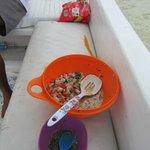 Despues de pescar...que mejor que el ceviche fresco...