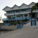 l'hotel appena ristrutturato dopo il tifone