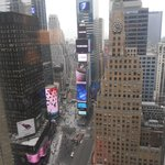 la vue depuis la chambre au 32 eme étage