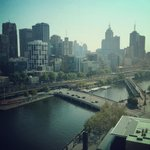View over the Yarra