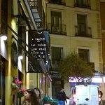 Madrid charming street