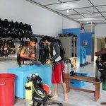Dive Center Maafushi.