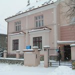 Pension Moravia Olomouc front view in winter