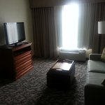 hotel room living room