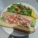 Lobster and Salad