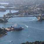 Sydney Harbor Bridge and the Opera House