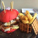 Beetroot Hamburger