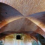 phenomenal brickwork throughout the fort, but this is a ceiling!