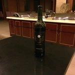 Red wine: Greatwall - Cabernet Sauvignon - far too cold