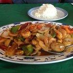 Sechuan Shrimp