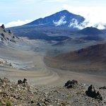 view of Haleakala Volcano