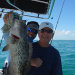 One of the Gag Grouper Catch