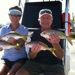 Yellow Tail Snapper Catch
