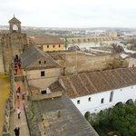 Alcázar de los Reyes Cristianos-vistas desde lo alto de la torre