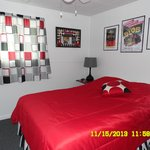 50'S THEME - TWO FULL SIZE BEDS