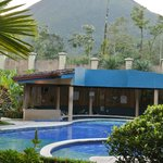 View of pool and Arenal volcano from 108