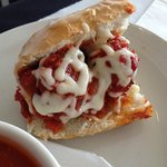 1/2 Meatball Sandwich (served at lunch with soup or salad)