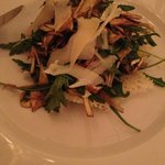 salade d'artichaut et fromage