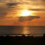 Meraviglioso tramonto visto dal B&B