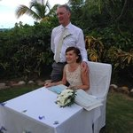 Our wedding in Antigua