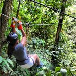 Zip Lining in El Valle.  Truly an unforgettable experience.  Amazing!