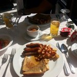 Desayuno ricooooo