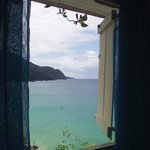 View of Castara Bay from one of our windows